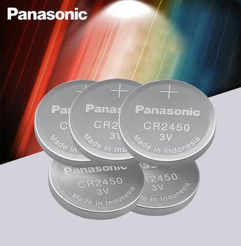 Naujas Originalus Panasonic CR2450 CR 2450 3V Lithium Button Cell Baterijos Monetos Baterijas Laikrodžiai,laikrodžiai,klausos